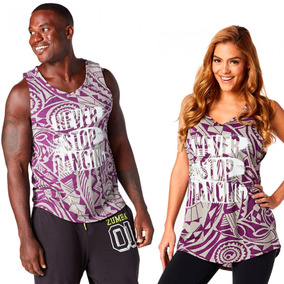 Remera Unisex Zumba Wear Tonning Instructor Never Stop Dance