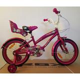Bicicleta Aro 16 Niña Rbx