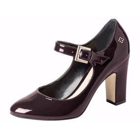 Zapato De Charol Con Taco Mujer Capodarte - 4010271