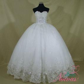 Vestido Princesa Noiva Debutante Tomara Que Caia Off White