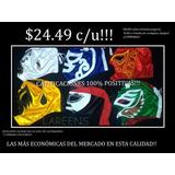 Mascaras De Luchadores Economicas Preciosolomayoreo 24.49c/u