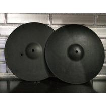 Platillos De Práctica O Mudos Marca Dixon Modelo 14 Pulgadas
