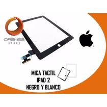 Mica Táctil Ipad 2 3 4 Blanco Y Negro 100% Original
