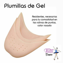 Plumillas De Gel Para Zapatillas De Punta Ballet