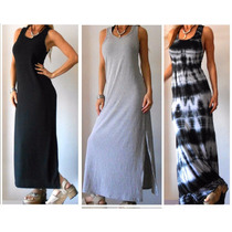 Vestidos Largos De Morley Negro-gris-batik-filomena Leggins