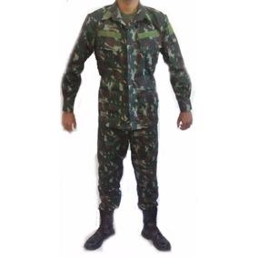 Farda Camuflada Exército Brasileiro + Gorro Pala Mole