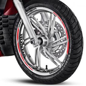 Friso Adesivo Interno M1 Roda Refletivo Moto Honda Sh 300 I