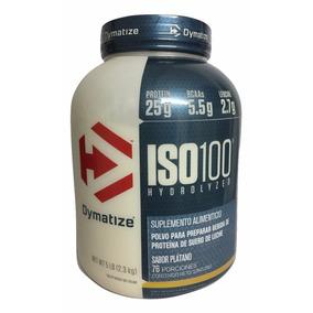 Proteina Dymatize Iso 100 5 Lb (76 Srvs) Platano