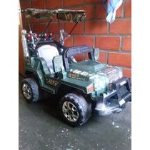 Carro Jeep De Bateria