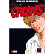 Crows 21 Hiroshi Takahashi Libro Ecc Manga De