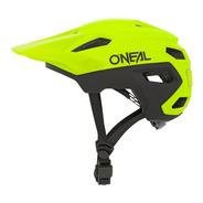 Casco Oneal Trailfinder Split Para Bicicleta Neon
