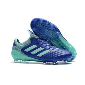 Chuteira Adidas Copa Mundial Modelo Antigo - Chuteiras Azul no ... 7660baa8e7bfd