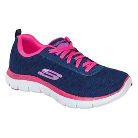 tenis skechers rosa