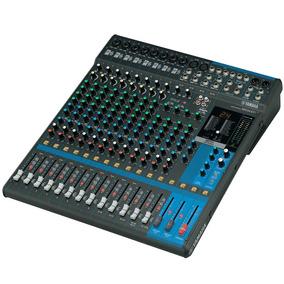 Mesa De Som 16 Ch C/ Fx/ph/4 Aux - Mg 16 X U Yamaha