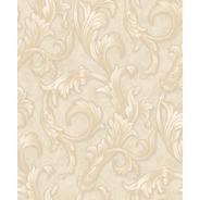 Papel De Parede Florence 87291 Arabesco Floral Clássico Luxo