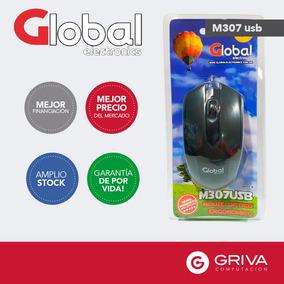 Mouse Óptico Global M307 Usb