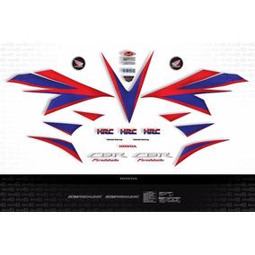 Kit Jogo Faixa Adesivo Honda Cbr 1000rr 2012 Hrc Fireblade