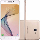 Celular Samsung Galaxy J7 Prime Dourado Nacional + Nf