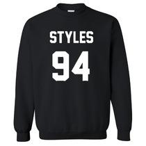 Blusa Casaco Moletom Careca Harry Styles 1d One Direction