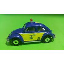 Viatura Vw Fusca Polícia Rodoviária Federal Matchbox 1.64.