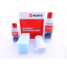Hidratante E Limpador De Banco De Couro Automotivo Wurth