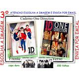 Caderno One Direction Personalizado 10 Matérias Mod 03