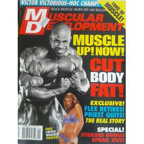Revista Muscular Development Fisicoculturismo Americana