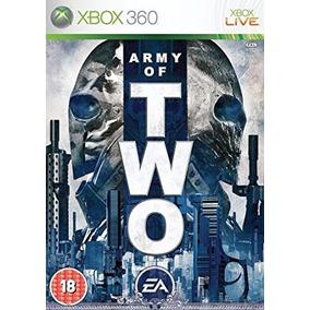 Jogo Mídia Física Army Of Two Original Para Xbox 360