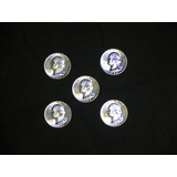 Washington 25 Cents 1956 Moneda Silver / Plata Uncirculated