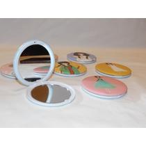 Espejo De Cartera Mujer Estampados X10 Ideal Souvenir