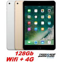 Apple Ipad Mini 4 128gb Wifi E 4g Garantia 1 Ano No Brasil