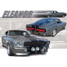 Mustang Shelby Gt500 Eleanor (1967) (para Armar En Papel)