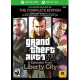 Grand Theft Auto Iv: The Complete Edition - Xbox 360 One