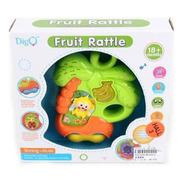 Sonajero Fruit Rattle Mono Musical