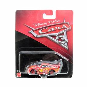 Disney Carros 3 Die Cast Lightning Mcqueen Ffj52 - Mattel