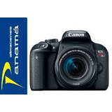 Canon T7i Nuevo 24.2 Mp Lente 18-135mm + Estuche + Tripode