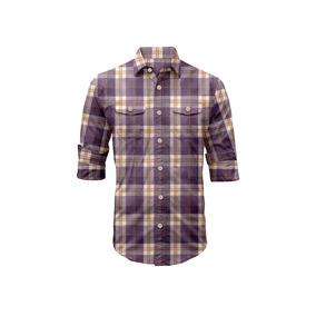 Camisa Manga Larga San Simeon Rosé Pistol Para Hombre - Azul