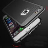 Capinha Dissipação Calor Respirável Iphone 5 Se 6 7 8 Plus X