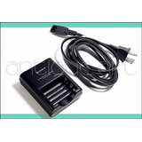 A64 Cargador Bc-cs2a Sony 2 Pilas Recargables Aa - Aaa 220v.