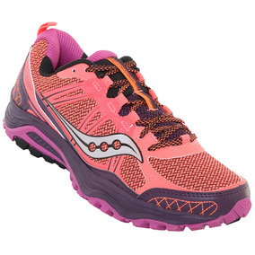 Tenis Saucony Excursion Trail Running En24 Mujer