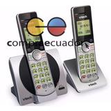 Vtech Teléfono Inalámbrico Doble Base + Identificador 6.0dec