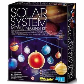 Móbile Brilhante Do Sistema Solar, Brinquedo Educativo