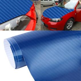 Para Vehiculo Pelicula Auto 5d Liberacion Hoja Alto Azul