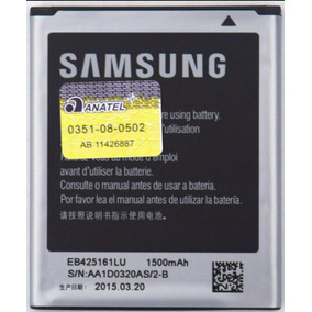 Bateria Celular J1 Míni S7562 Smj105b/dl J105 Samsung Origin