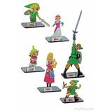 ¡ Collección Completa De 6 Figuras De Zelda En Wholegames !