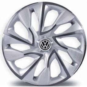 Calota Aro 13 Esportiva Ds4 Silver Cup Volkswagen Gol Voyage