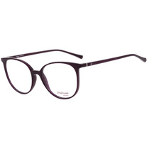 Hickmann Hi 4000 - Óculos De Grau D01 Roxo Brilho - Lente