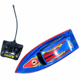 Spiderman Lancha Bote Radio Control Ditoys Speed Boat