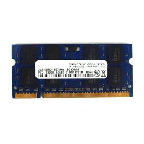 Kit 2 Pentes De Memoria Ae 2gb Ddr2 667mhz Pc2-5300s-555