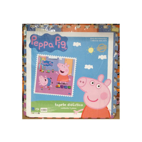 Tapete Piso Didactico Foamy Fomi Fomy Peppa Pig 1.40 Mts2